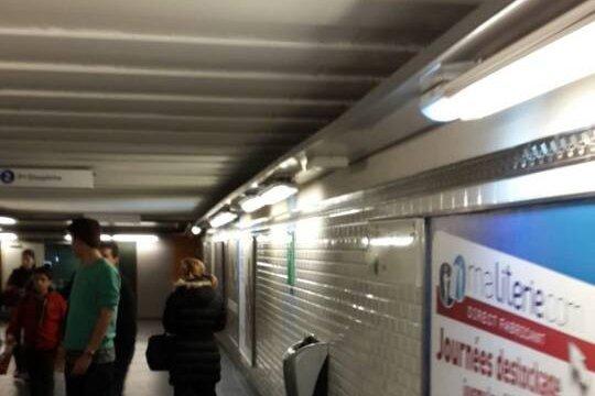 Led Tube For Metro