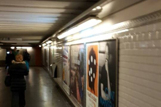 LED Tube For Subway Station