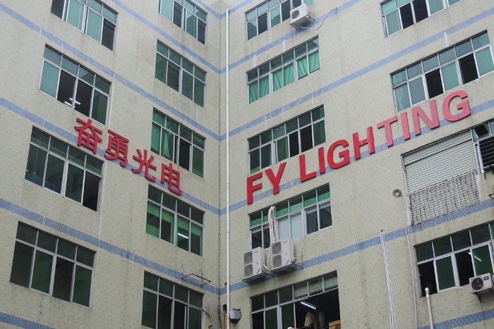 China Shenzhen FY lighting Led Tube Manufacture