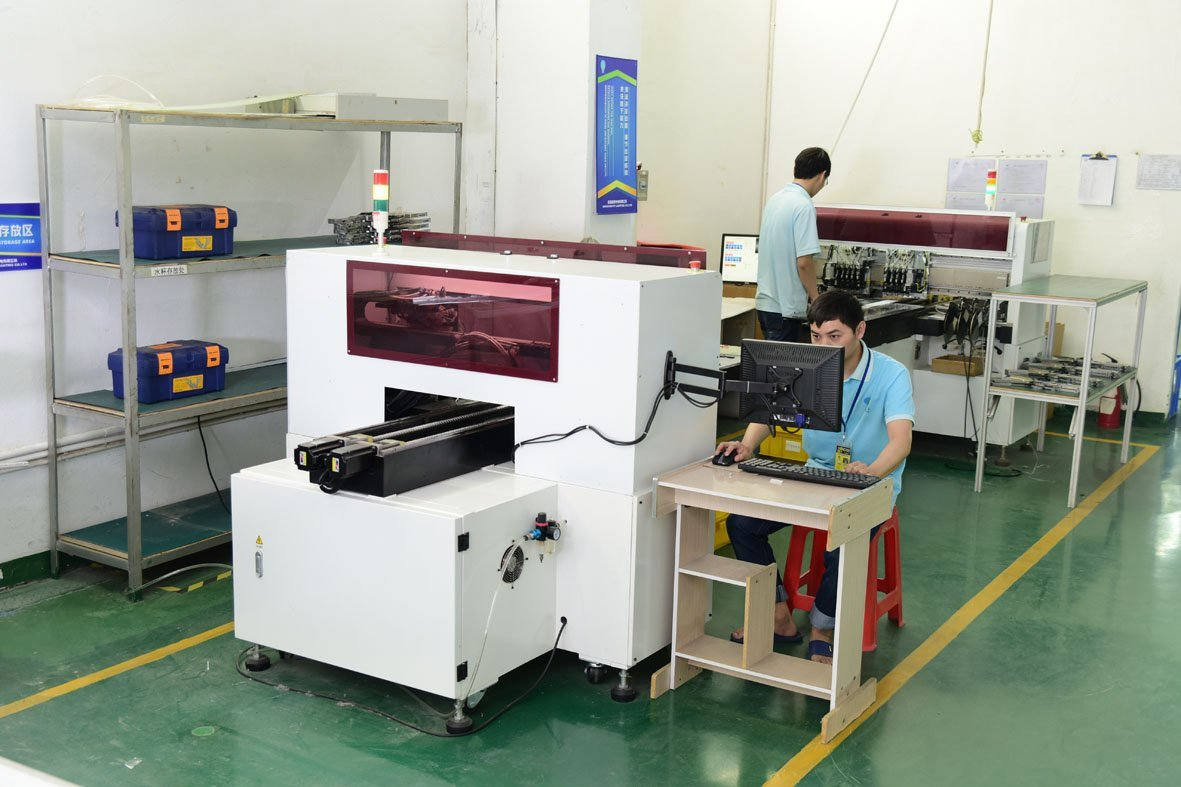 Led tube SMT machine